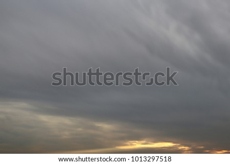 Moody clouds background #1013297518