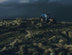 moody style landscape iceland akranes photography