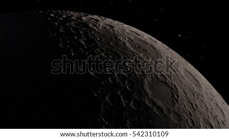 Moon Elements of this image furnished by NASA #542310109