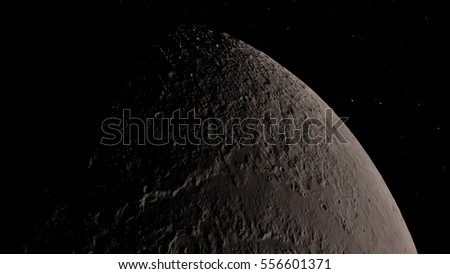Moon (Elements of this image furnished by NASA) #556601371