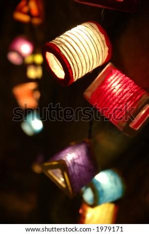 moon festival lanterns