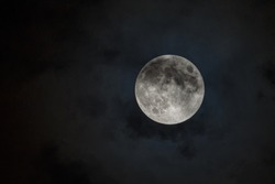 Moon - Image of the moon during the Penumbral Lunar Eclipse