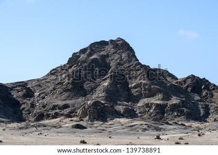 Moon Landscape, desert of Namibia