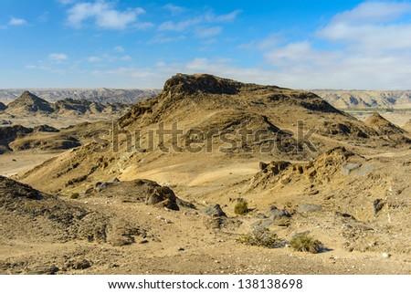 Moon Landscape, Namib desert, Africa