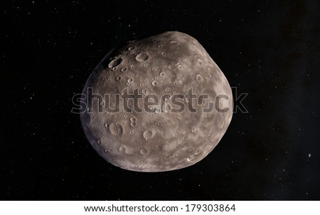 Moon or asteroid