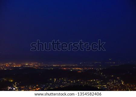 Moonlight Morioka city #1354582406
