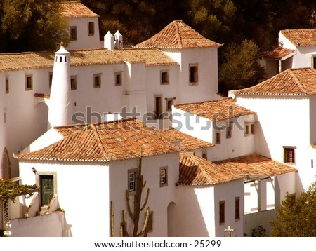 Moorish houses stock photo 25299 shutterstock for Moorish homes