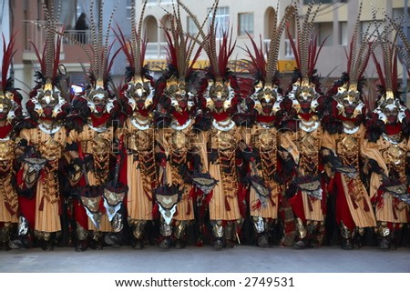 Moors And Christians Stock Photo 2749531 : Shutterstock