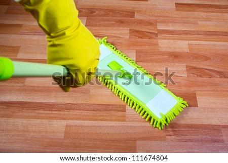 mop the floor washing