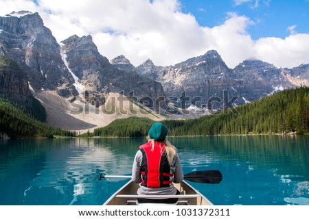 Moraine Lake Alberta Canada #1031372311