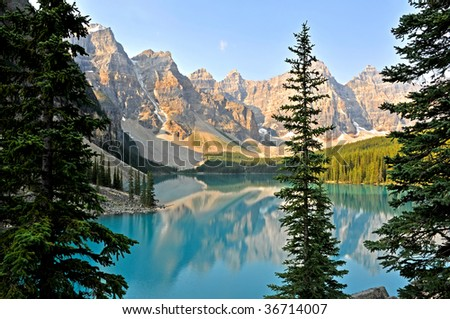 Moraine Lake, Alberta Canada Horizontal
