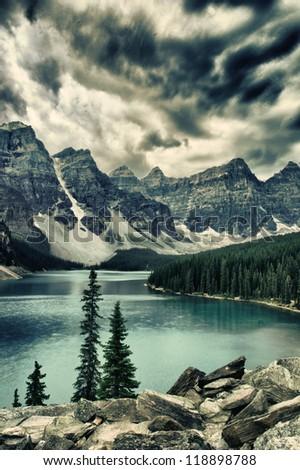 Moraine Lake, Banff National Park Alberta