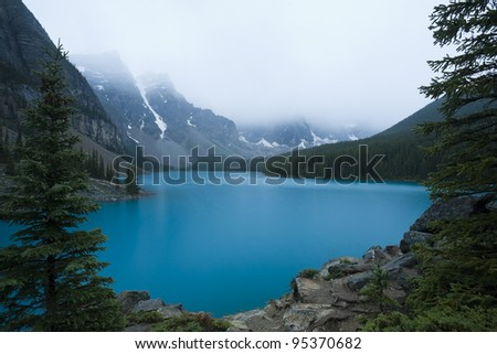 Moraine Lake, Banff National Park (Alberta, Canada)
