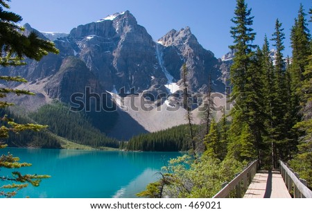 Moraine Lake Bridge