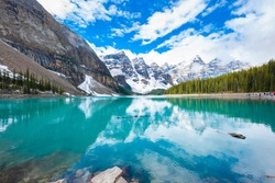 Moraine Lake in BANFF, Canada