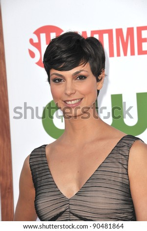Morena Baccarin at the CBS Summer 2011 TCA Party at The Pagoda, Beverly Hills. August 3, 2011  Los Angeles, CA Picture: Paul Smith / Featureflash