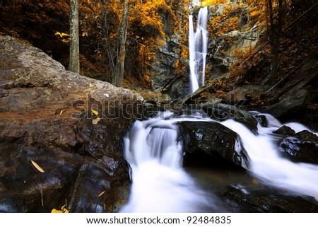 Morkfa Waterfall, Thailand