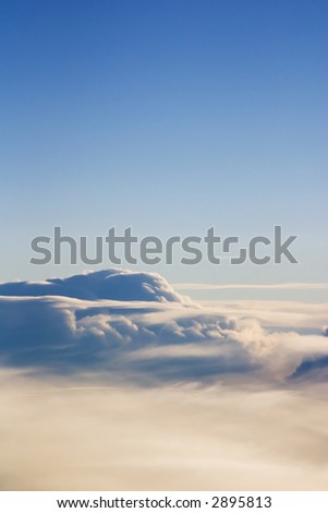 Morning Aerial Clouds