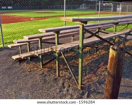 Morning at the Local Baseball Field