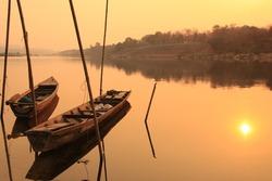 Morning atmosphere Mekong River, Thailand