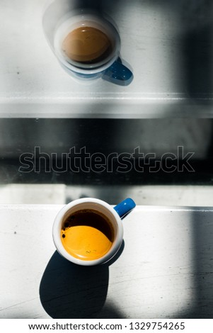 Morning espresso cup #1329754265