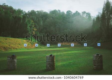 Morning, Gun Shooting Range, outdoor