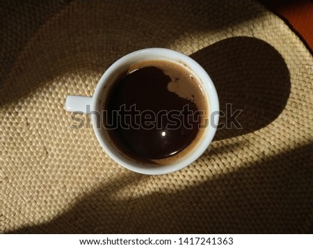 Morning. Have a cup of strong strong coffee