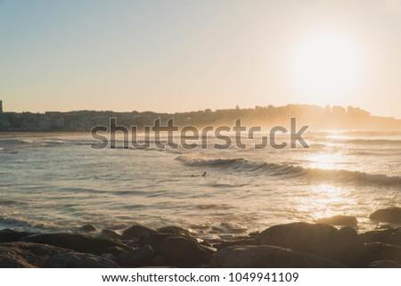 Morning in Bondi Beach