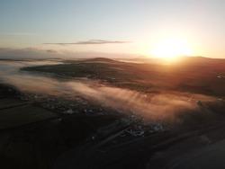 Morning Mist, Aberdaron, Wales, Cymru