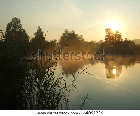 Morning On A Lake