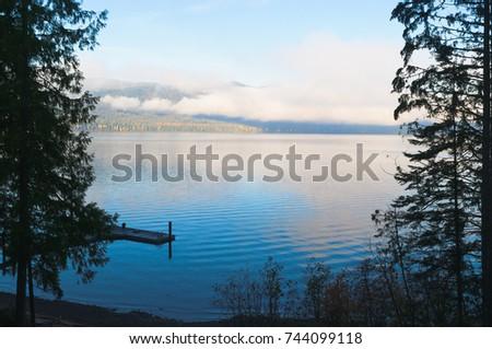Morning on Priests Lake in Northern Idaho