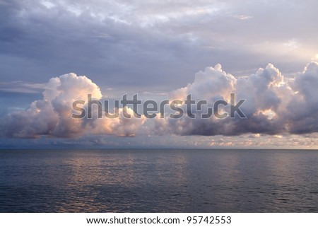 Morning over the Coral Sea, Australia
