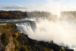 Morning shot of Niagra Falls