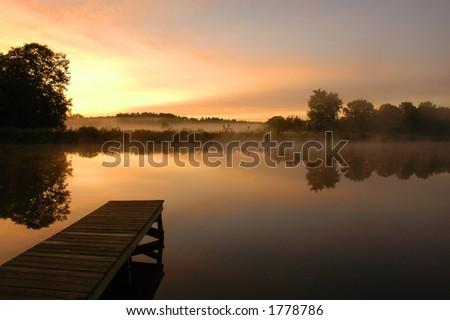 Morning Stillness Stockfoto ©