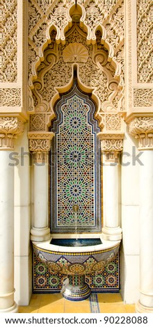 Moroccan architecture design