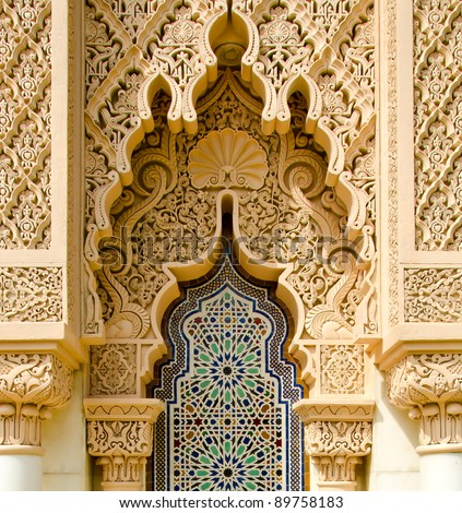 Moroccan architecture traditional design