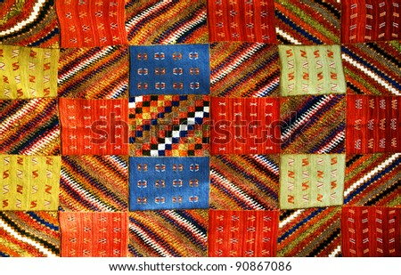 Moroccan carpet background