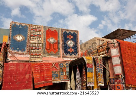 Moroccan Carpets for sale in Marrakech