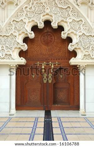 Moroccan Door - stock photo