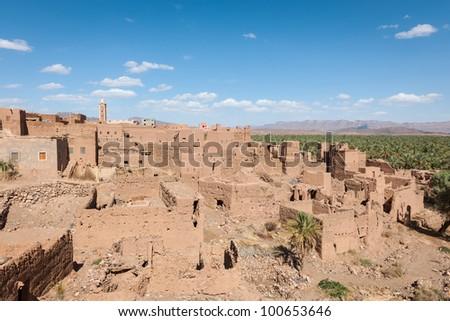 Morocco - Atlas Mountain Village - Draa Valley
