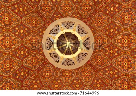 Morocco Ceiling art