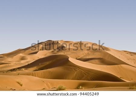 Morocco desert dunes