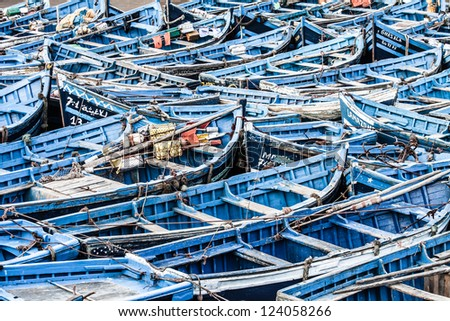 Morocco Essaouira Unesco World Heritage site ( HDR image )