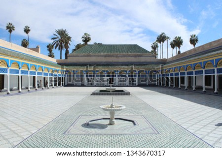 morocco, landmark, building #1343670317
