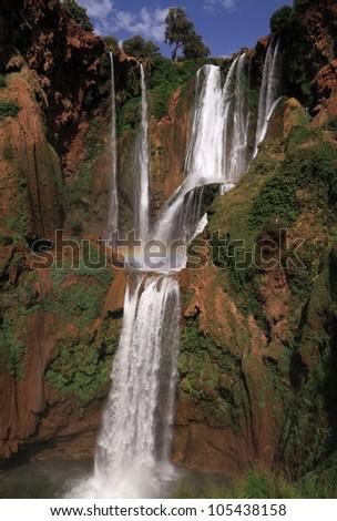 Morocco Ouzoud Waterfalls