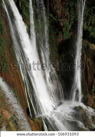 Morocco Ouzoud Waterfalls - detail