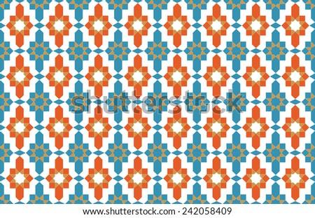 Morocco tile pattern