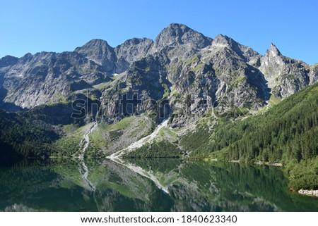 Morskie Oko in summer - the Tatra Mountains Stock fotó ©