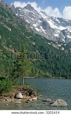 Morskie Oko Lake, tatra mountain, tatra national park,poland