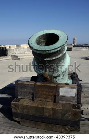Mortar Cannon in Castillo San Marco
